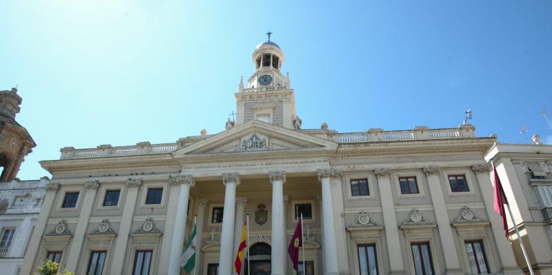 Resultado de imagen de fotos del ayuntamiento de cadiz