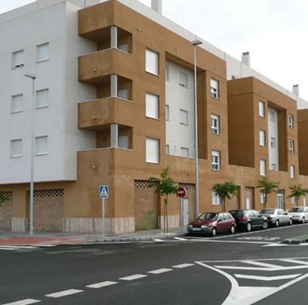 vista de una vivienda en la parte de extramuros