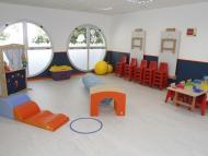 Foto de un aula de la Guardería de Astilleros