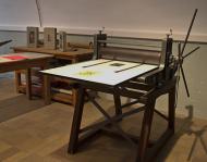 Taller de estampación litográfica