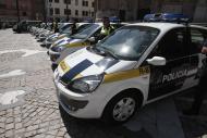 Vehículos de la Policía Local de Cádiz
