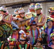 Foto de un coro subido en una batea