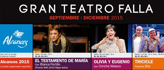 Nueva Temporada Gran Teatro Falla